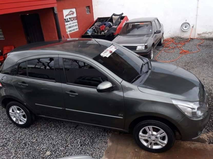 Chevrolet Agile LTZ 2012 - 8