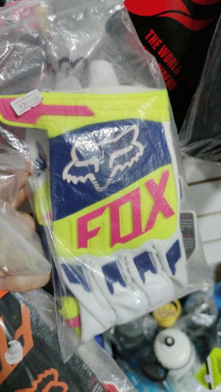 Guantes largos fox - 1