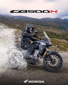 Moto Honda CB500X de Diesa