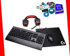 Logitech G kit gamer G203+G213+G230+G240