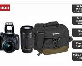 Cámara Canon T7 kit Premium