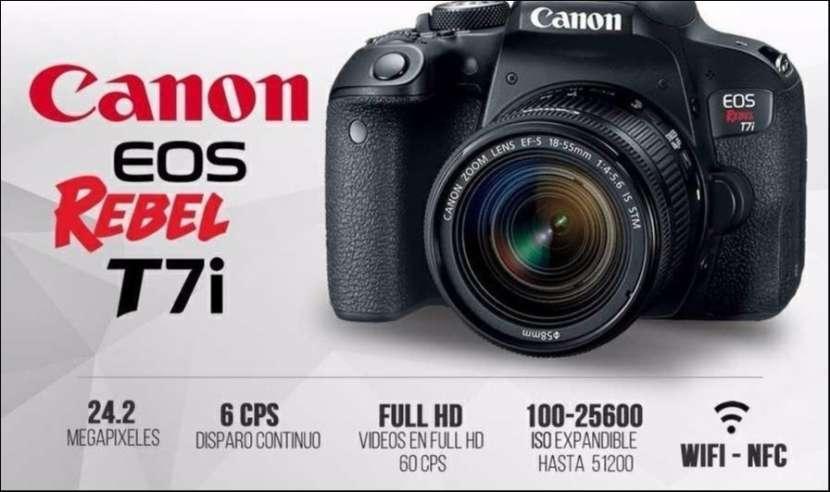 Cámara Canon T7i Kit - 0