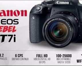Cámara Canon T7i Kit