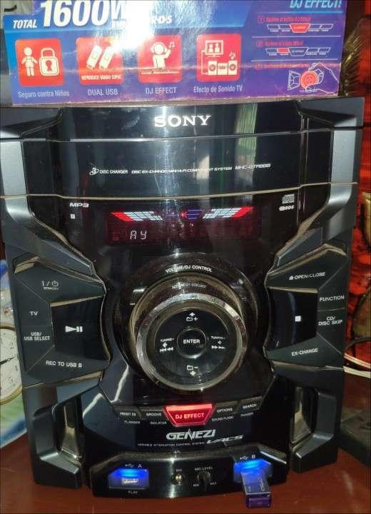 Equipo de sonido Sony Genezy - 1