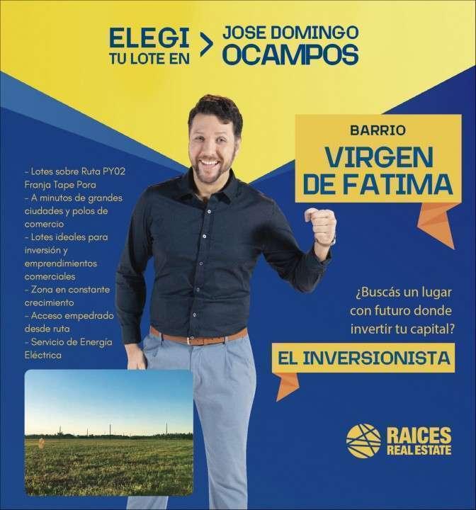 Terreno en José Domingo Ocampos - 0