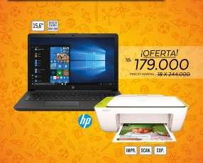 Notebook HP DE 500 Y 4 RAM + IMPRESORA HP