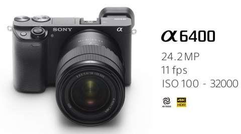 Cámara Sony A6400