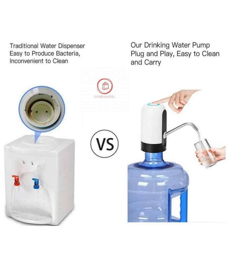 Dispensador de agua eléctrico recargable vía usb - 1