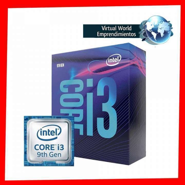 Procesador intel i3-9100f 3.60ghz 6mb - 0