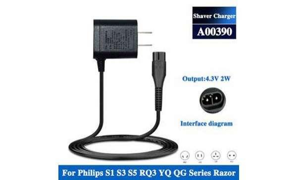 Cargador UK Plug A00390 para afeitadora Philips Norelco - 0