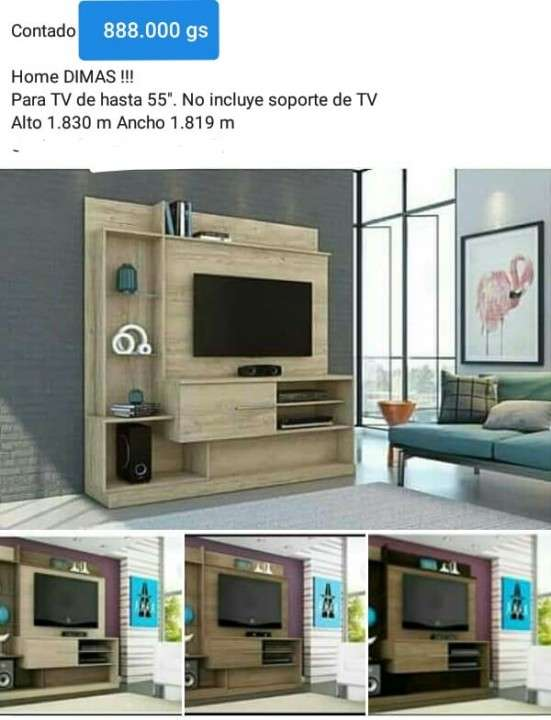 Estantes para TV (Homer) - 2