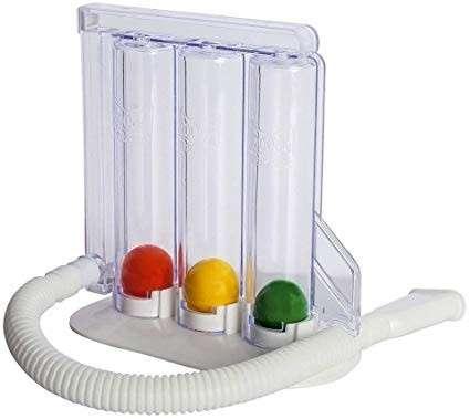 Ejercitador de pulmon- triflow