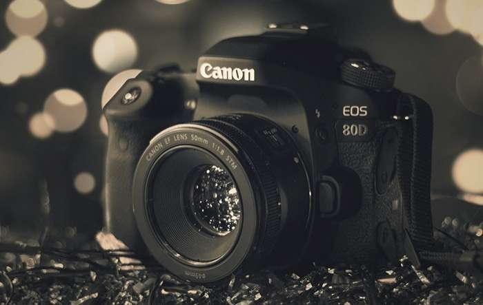 Cámara Canon 80D kit 18-55 - 0