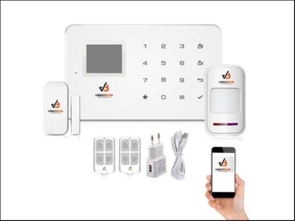 Alarma residencial GSM - 0