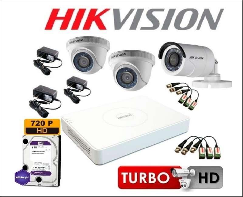 Kit circuito cerrado Hikvision instalado - 2