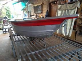 Reparación de botes de aluminio y chapa zinc
