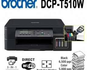 Impresora brother dcp-t510w wireles multifuncion