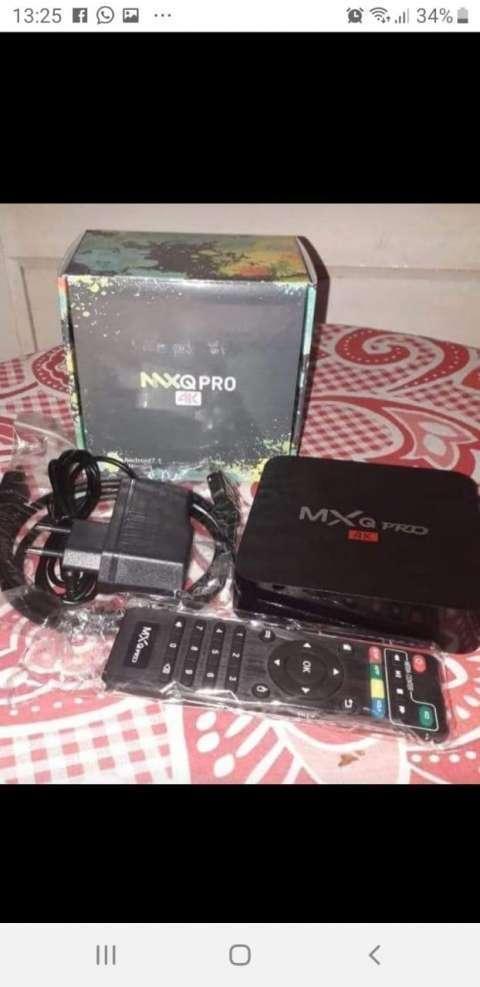 Tv Box MXQ Pro 4K con canales premium y para ver el fútbol local