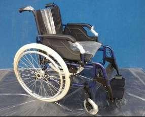 Silla de ruedas en aluminio Liliana para adultos en Paraguay