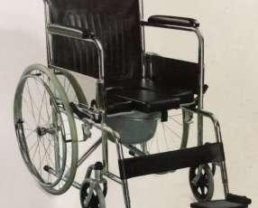 Silla de ruedas con opción sanitaria en Paraguay