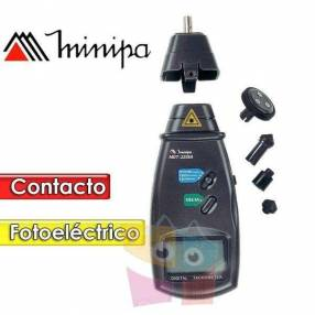 Tacómetro digital foto contacto - Minipa - MDT-2238B