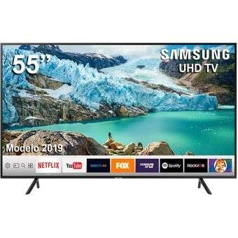 Tv smart 4k Samsung 55 pulgadas - 0