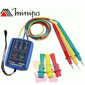Fasímetro Minipa MFA-840A 600V 400Hz