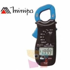 Pinza amperimétrica Minipa ET-3100 VDC 600V VAC 600V