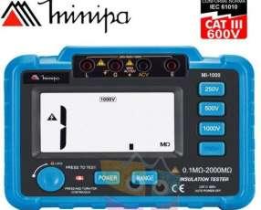 Megometro Digital - Minipa - MI-1000 - 2000MΩ / 1000V