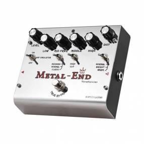 Pedal de Distorsión para Guitarra Eléctrica Biyang Metal End
