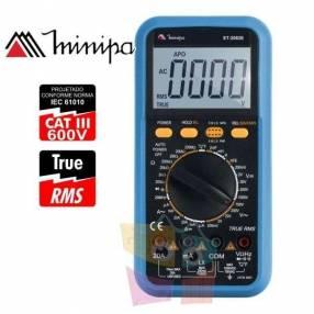 Multímetro digital Minipa ET-2082E True RMS AC VDC 1