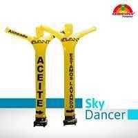 Sky dancer para promociones