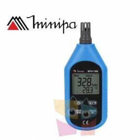 Termohigrómetro Digital Compacto Minipa - MTH-1300