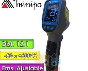 Termómetro Infrarrojo - Minipa - MT-320B - escala -50 a +600