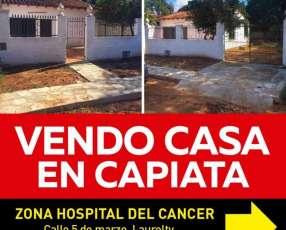 Casa Capiatá zona Hospital del Cáncer
