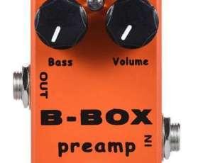 Pedal Para Guitarra Eléctrica Mosky B-Box Preamp