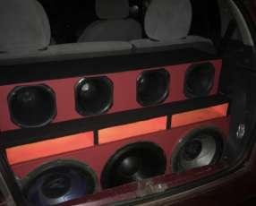 Caja acústica full