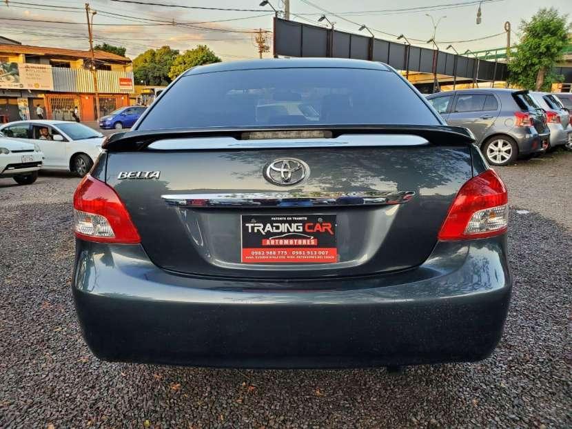 Toyota belta 2007 - 2