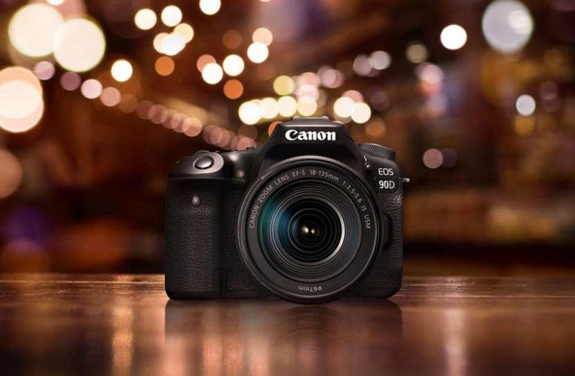Cámara Canon EOS 90D kit 18-55mm f/3.5-5.6 IS STM. - 0
