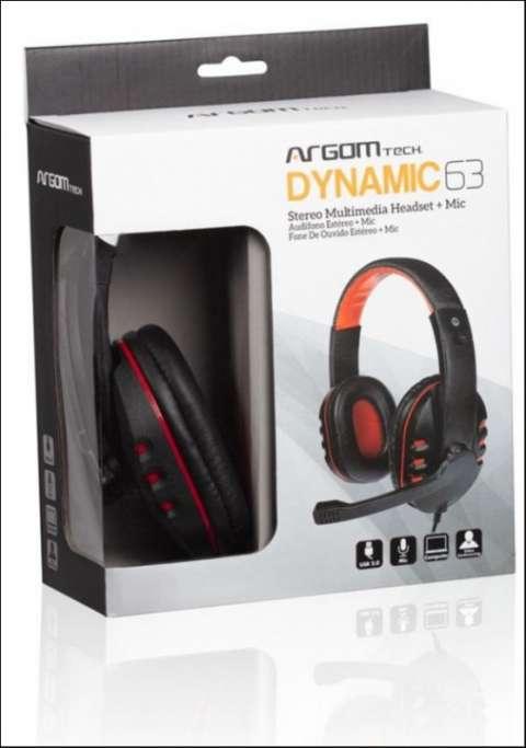 Auricular Argom Tech Dynamic 63