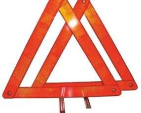 Baliza triangular para auto