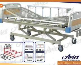 Cama de tres funciones manual importado en Paraguay