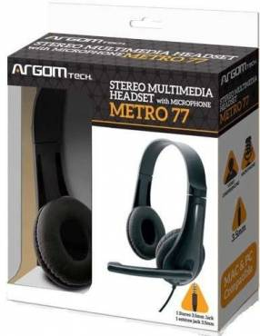 Auricular Argom Tech Metro 77