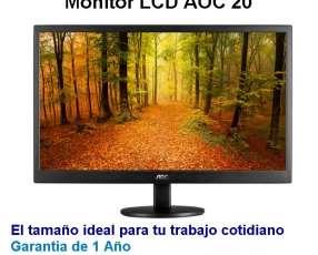 Monitor lcd aoc 2o