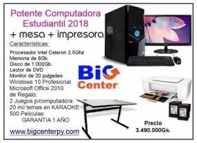 Computadora de escritorio completita