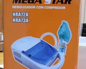Nebulizador con compresor