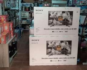 Tv LED Smart Sony bravía full UHD 4k HDR de 49 pulgadas