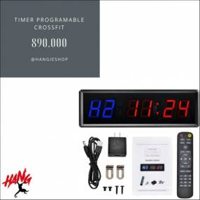 Timer programable con control Crossfit Tabata EMOM