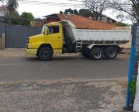 Camion tumba doble eje 1418 mercedes benz