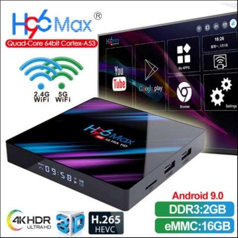 Tv box H96 max 4k